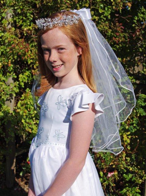 Olivia Communion Veil