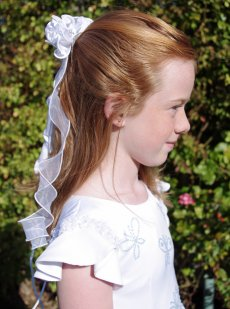 Julietta Communion Headdress